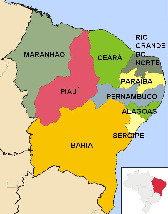 nordeste-estados