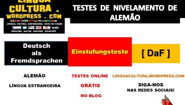 Faça Testes De Nivelamento De Alemão Online Gratuitos Kostenlose