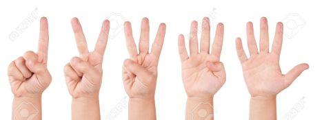 6125093-Kind-Finger-Zahlen-Menschliche-wenig-Countdown-hand-Stockfoto