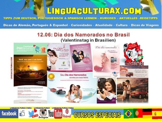 Propagandas do Dia dos Namorados no Brasil